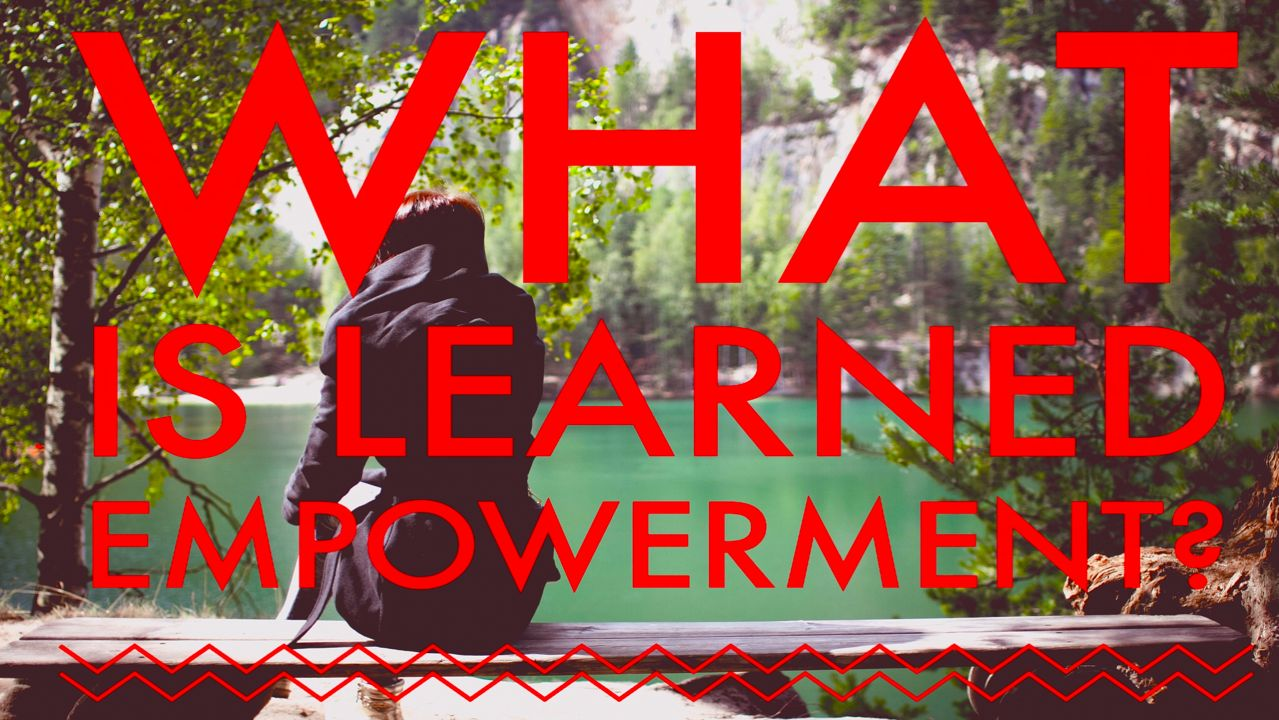 What is Learned Empowerment?